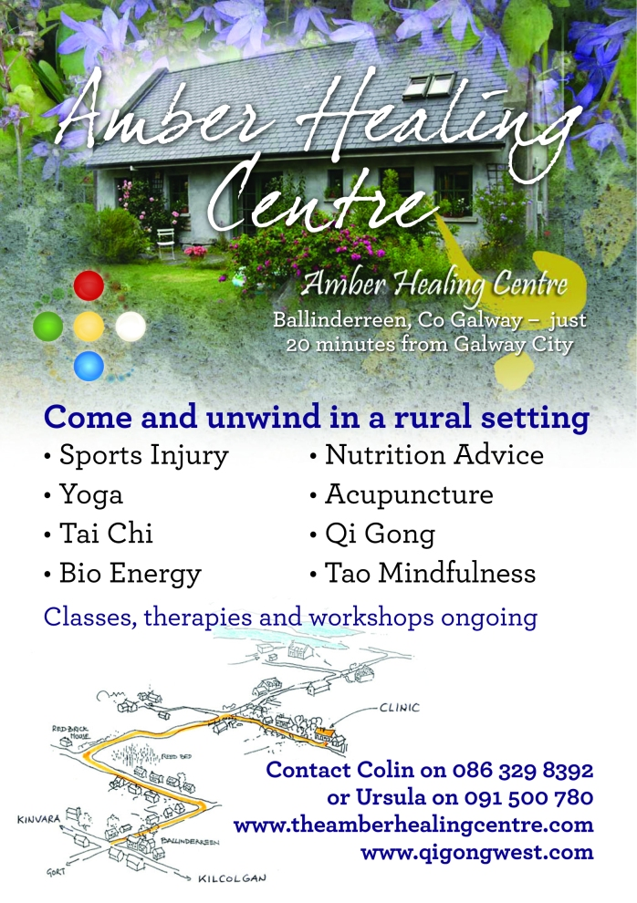 Sports Injury, Yoga, Nutrition Advice, Tai Chi, Acupuncture and more at the Amber Healing Centre