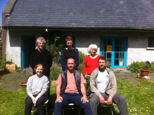 Instructor training in Qi Gong group